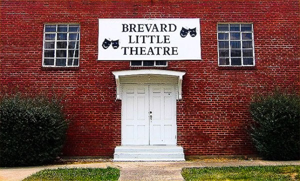 Fun things to do in Brevard NC : Brevard Little Theatre.