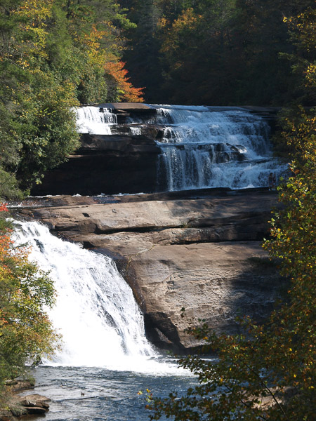 Triple Falls in Dupont Forest.