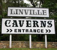 Linville Caverns in Linville, NC.
