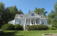 Carl Sandburg's Home in Flat Rock, NC.