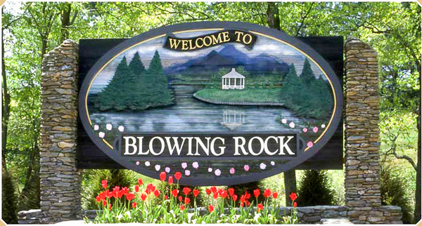 Fun things to do in Brevard NC : Blowing Rock, NC.