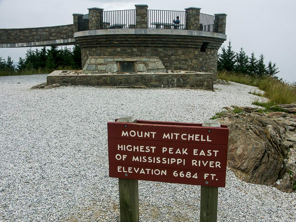 Fun things to do in Brevard NC : Mt Mitchell State Park in Burnsville NC.