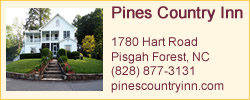 Banner Ad for Country Pines Inn