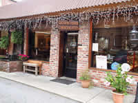 Fun things to do in Brevard NC : Downtown Chocolates in Brevard, NC.